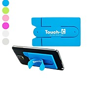 Universal Touch-C Magic Sticker U Shape Design Silicone Stand for Samsung Galaxy S5 I9600 and Others