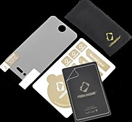 High Quality Matte Screen Film Protector with Scratch Card and Cleaning Cloth for iPhone 4/4S