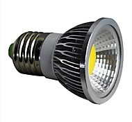 3W E26/E27 Spot LED 1 COB 280LM lm Blanc Chaud AC 100-240 V