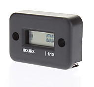 Waterproof LCD Screen Display Hour Meter for Motorcycle Gas Engine