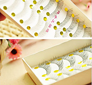 10 Pairs Natural Cross False Eyelash
