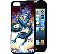 Dragon Pattern 3D Effect Case for iPhone5