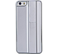 Novelty Rechargeable Cigarette Lighter Design Silver Plastic Hard Case for iPhone 5/5S