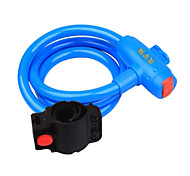 YELVQI Bike Lock Mountain Bike Blue Anti-Theft Wire Lock