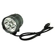Marsing  5 x Cree XM-L T6 4500lm 3-Mode White Bike Light Headlamp