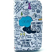Okay Letter Design PU Leather Full Body Case with Stand for Samsung Galaxy S3 Mini I8190