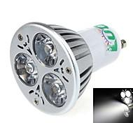 Spot Décorative Blanc Naturel LUO S GU10 3 W 3 LED Intégrée 250~300 LM 3000-3500K K AC 85-265 V