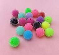 z&x® perles bricolage matériaux perles oniriques colorées 20 pcs (couleur aléatoire, motif)