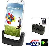 3 in 1 Data Sync Battery Charger Desktop Charging Cradle Micro USB Micro USB Cable for Samsung Galaxy S4 SIV I9500 I9505