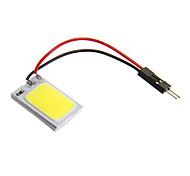 Festoon 2W COB 150ML Cool White Light LED Bulb for Car (DC 12V)