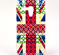 Coppa del Mondo UK Flag modello rigido di plastica per Motorala Moto G