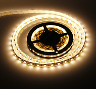 5M 72W 300x5050SMD Warm White Light LED Strip Lamp (DC 12V)