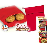 "Potato Express Microwave Potato Cooker , Polypropylene 9.6""X7.6""X0.4"""