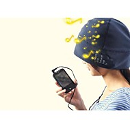 Beanie Hat Built-in Headphones 3.5mm for iPhone Tablet MP3