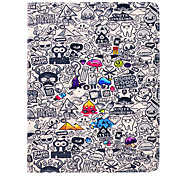 Special Cartoon Pattern PU Leather Full Body Case with Stand for iPad 2/3/4
