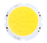 9W COB 800-900LM 3000K Warm Chip LED a luce bianca (27-32V, 300 uA)
