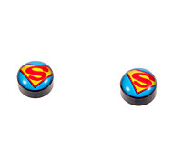 Vintage Magnet Black Stud Earrings(1 Pair)