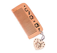 1 Pcs Natural Portable Small And Exquisite Delicate Lovely Trumpet Bag And Comb