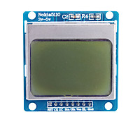 """1.6 """"Nokia 5110 LCD-Modul mit blauer Hintergrundbeleuchtung für (für Arduino)"""