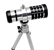 Lega di alluminio 16X Teleobiettivo zoom Set per SAMSUNG S3 - Argento