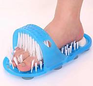 zapatillas pies frotación del masaje