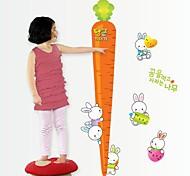 Doudouwo ® Мультфильм морковь Детская Высота стены стикеры