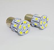 1157 2W 13x5730SMD 150-180LM White Light LED Bulb for Car (DC 12V,2pcs)