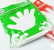 Одноразовые перчатки, 100 шт.