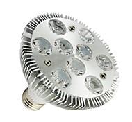 Luces PAR Regulable LOHAS PAR E26/E27 9 W 9 LED de Alta Potencia 830-880 LM 6000-6500K K Blanco Fresco AC 100-240 V