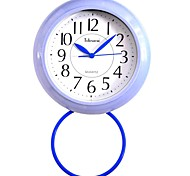 """Telesonic™ 7""""H  Brief Style Precision Waterproof Bathroom`s Taxiing Mute Wall Clock"""