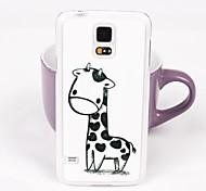 Beautiful Giraffe Pattern PC Back Case for Samsung Galaxy Note 4