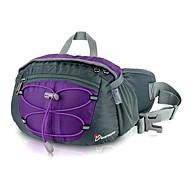 MOUNTAINTOP 8L Terylene Purple Outdoor Breathbale Cycling Waist Bag Chest Bag