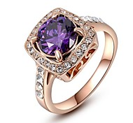Gorgeous Fashion Jewelry  Gold plated with Crystal  Rhinestone Rings (one piece)