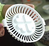 resistente ao calor para churrasco design dedicado bakeware palstic (x1pcs cor branca)