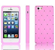 Full Star Bling Diamond TPU Soft Case for iPhone 5/5S (Assorted Colors)