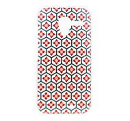 Kinston Honeycomb Lattice Pattern Plastic Hard Case for Motorala Moto X