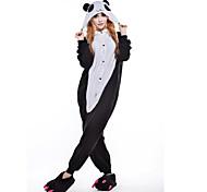 New Cosplay Red Eye Panda  Polar Fleece Adult Kigurumi Pajama