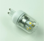 5W G9 LED a pannocchia T 10 SMD 5730 400 lm Bianco caldo Decorativo AC 85-265 V