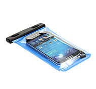 BINGO Mobile Phone Waterproof Bag with Earphone(Black,Blue)