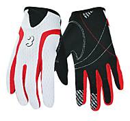 Glove Cycling / Bike Men's Full-finger Gloves Anti-skidding Spring Black S - BOODUN