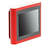 """topo 1.8 """"multi-touch rádio fm tela clip-on 8gb mp4 player (vermelho)"""