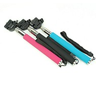 Universal Telescopic Autodyne Pole Stand for iPhone and Others Cellphone (Assorted Colors)