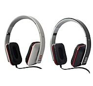 alta calidad de los auriculares lm-11v diadema estéreo con micrófono para el iphone / ipod / ipad y otros (colores surtidos)
