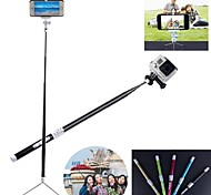 G-499b fibre de carbone Bluetooth intelligente rétractable Manfrotto pour GoPro 2/3/3 + Appareil photo / Iphone / Mobile