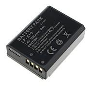 1080mAh nouvelle batterie de la caméra pour lp-e10