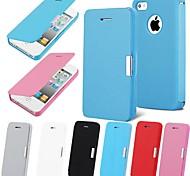 vormor® pochette magnétique étui en cuir flip pour iphone 5 / 5s (couleurs assorties)