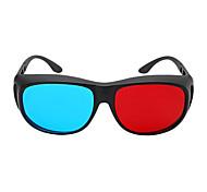 m&k vermelhos óculos 3D azuis para computador e TV 3D