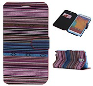 Cotton Fabrics Full Body Case with Stand and Card Slot for Samsung Galaxy Note 3(Assorted Colors)