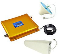 Display LCD GSM e DCS Mobile Phone Antenna soffitto Dual Band Signal Booster + Log Periodic Antenna + con cavo