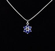 Dark Blue Rhinestone Lucky Magic Ring Pendant(Pendant Only)